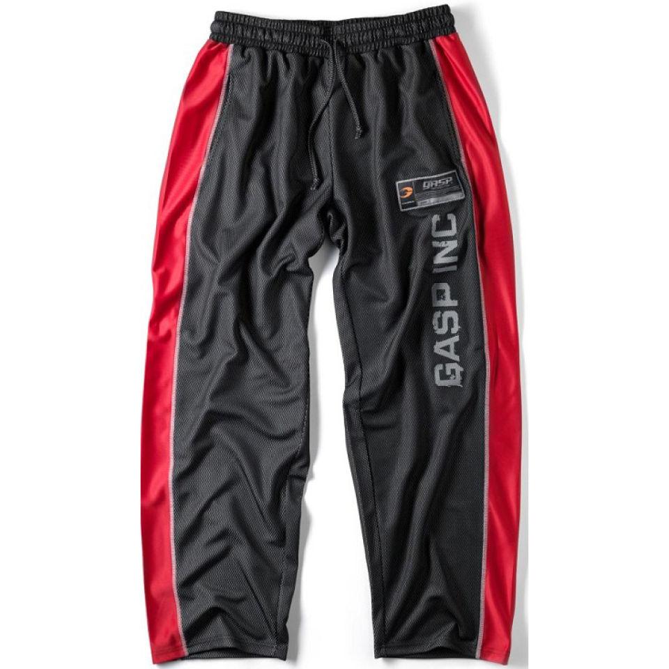 gasp-no1-mesh-pants-blackred-m