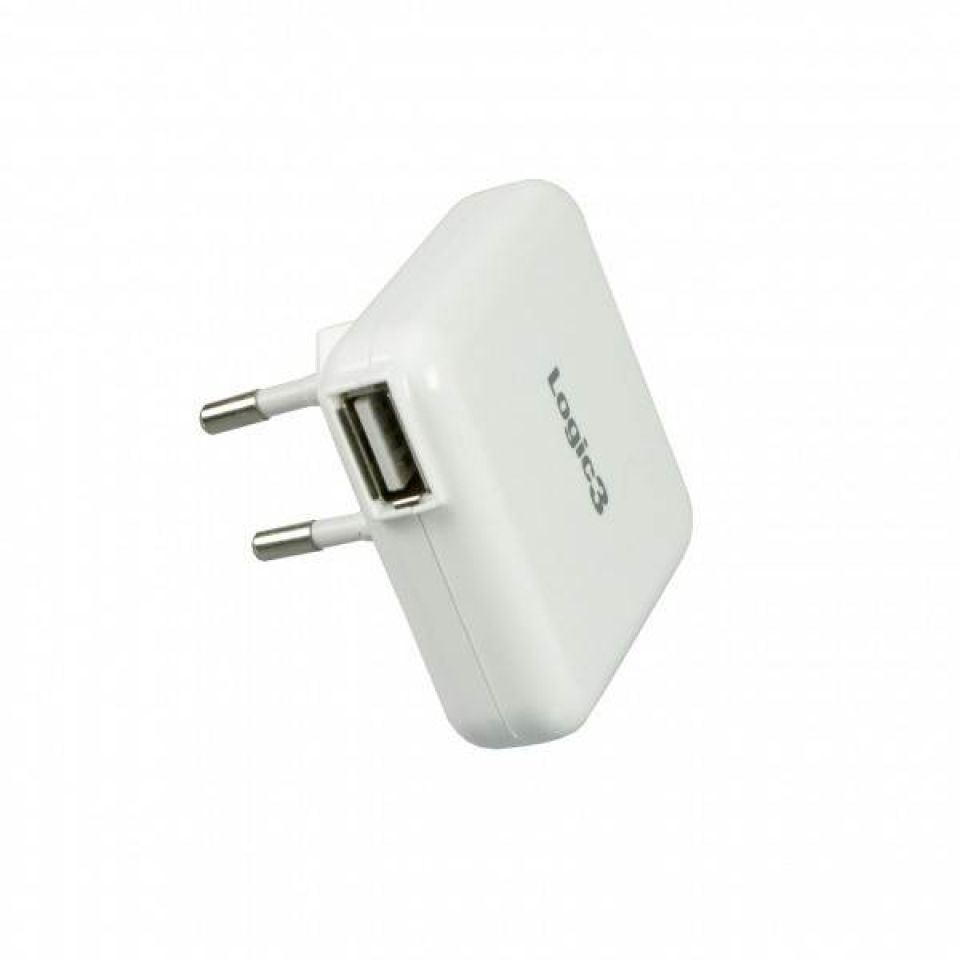 logic-3-ip218e-mains-usb-charger-adapter