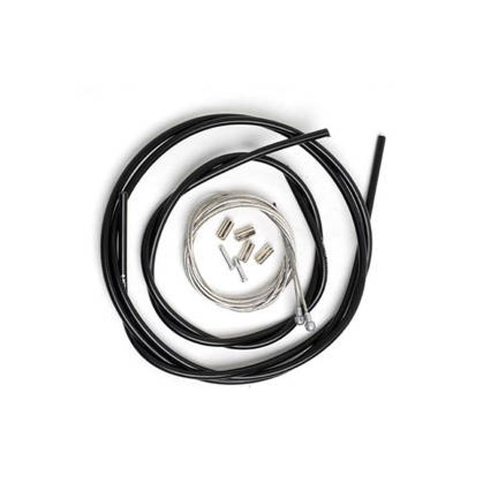 shimano-road-brake-cable-set-with-polymer-coated-inner-black