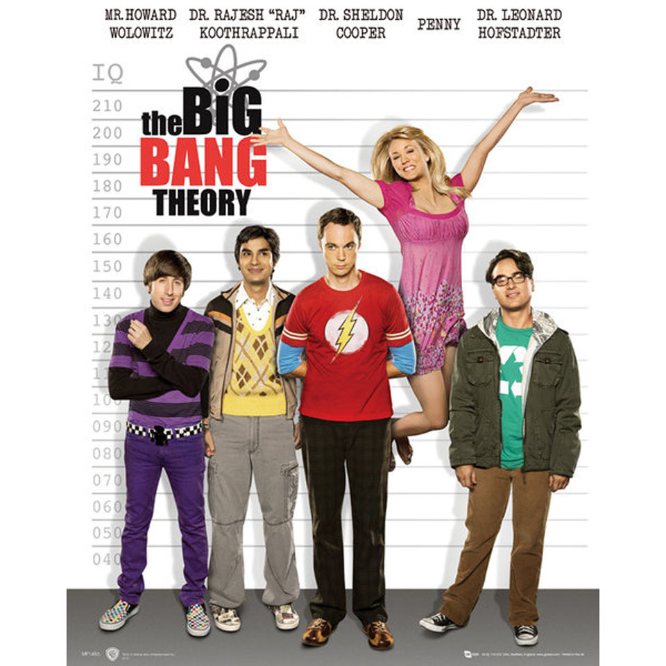 the-big-bang-theory-line-up-mini-poster-40-x-50cm
