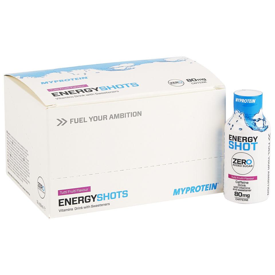 Foto Energy Shot, Tutti Frutti, 12 x 60ml Myprotein