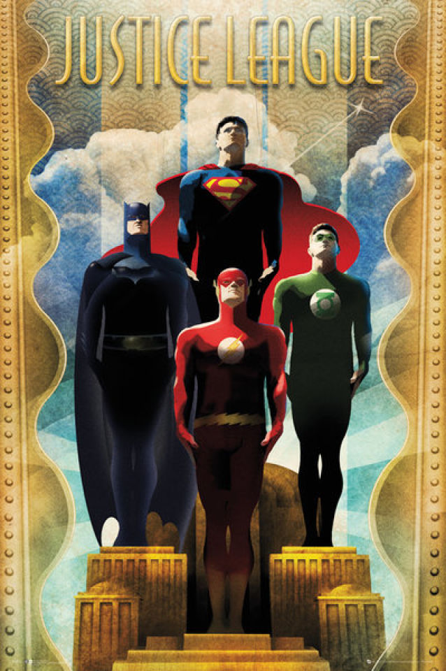 dc-comics-team-art-deco-maxi-poster-61-x-915cm