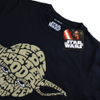 Star Wars Men's Yoda Text Head T-Shirt - Black: Image 2