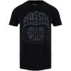 Star Wars Men's Darth Vader Text Head T-Shirt - Black: Image 1