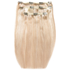 Beauty Works Deluxe Clip-In Hair Extensions 18 Inch - Champagne Blonde 613/18: Image 1