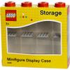LEGO Mini Figure Display (8 Minifigures) - Bright Red: Image 4
