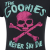 The Goonies Women's Skull T-Shirt - Black: Image 5