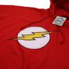 DC Comics Men's Flash Distress Hoody - Red: Image 2