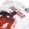 Marvel Men's Captain America Civil War Stance T-Shirt - White: Image 2