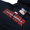 Marvel Men's Captain America Civil War Logo Hoody - Navy: Image 2