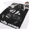 Star Wars Men's Vader Father Photo T-Shirt - White: Image 2