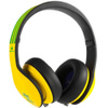 adidas Originals by Monster Headphones (3-Button Control Talk & Passive Noise Cancellation) - Yellow/Green/Black: Image 2