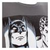 DC Comics Men's Batman Face T-Shirt - Grey: Image 4