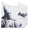 DC Comics Men's Batman and Harley Quinn T-Shirt - White: Image 3