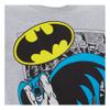 DC Comics Men's Batman Comic Strip T-Shirt - Grey: Image 3