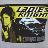 Knight Rider Men's Ladies Knight T-Shirt - Grey Marl: Image 5