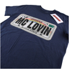 Superbad Men's Reg Plate T-Shirt - Navy: Image 3