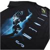 Aliens Men's Vertical T-Shirt - Black: Image 3