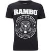 Rambo Men's Seal T-Shirt - Black: Image 1