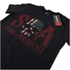 Sons of Anarchy Men's Flag Skull T-Shirt - Black: Image 3