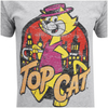 Top Cat Men's Top Cat in the City T-Shirt - Grey: Image 3