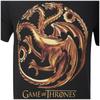Game of Thrones Men's Targaryen Sigil T-Shirt - Black: Image 3