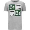 Breaking Bad Men's Square T-Shirt - Light Grey Marl: Image 1