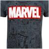 Marvel Men's Mono Comic T-Shirt - Dark Heather: Image 5