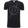 DC Comics Men's The Flash Line Logo T-Shirt - Black: Image 1