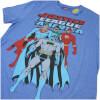DC Comics Men's Justice League T-Shirt - Heather Royal: Image 3