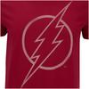 DC Comics Men's The Flash Line Logo T-Shirt - Cardinal Red: Image 5