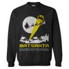 DC Comics Men's Batman Batsanta Christmas Sweatshirt - Black: Image 1