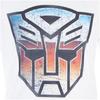 Transformers Men's Transformers Multi Emblem T-Shirt - White: Image 4