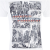 Transformers Men's Comic Strip T-Shirt - White: Image 4