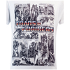 Transformers Men's Comic Strip T-Shirt - White: Image 2