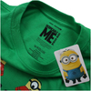 Despicable Me Men's Christmas Pattern T-Shirt - Irish Green: Image 3