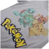 Pokemon Men's Starters T-Shirt - Sport Grey: Image 4
