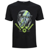 Star Wars: Rogue One Men's Death Trooper Head T-Shirt - Black: Image 1