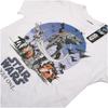 Star Wars Rogue One Men's Fight Scene T-Shirt - White: Image 3
