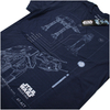 Star Wars Rogue One Men's AT-AT Schematic T-Shirt - Navy: Image 4