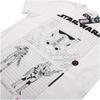 Star Wars Rogue One Men's Death Trooper Schematic T-Shirt - White: Image 4
