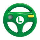 Luigi Green Wheel for Wii U – EXCLUSIVE