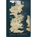 Game Of Thrones Map - Maxi Poster - 61 x 91.5cm
