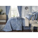 Byron Oxford Pillowcase Pair - Smokey Blue
