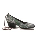 Vivienne Westwood Anglomania Womens Ceecee Cuban Heels  GreyForest  UK 4