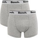 Bench Men's 2-Pack Boxers - Grey