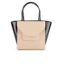 Bags Ted Baker Women's Roselle Patent Crosshatch Large Shopper Bag - Powder Blue