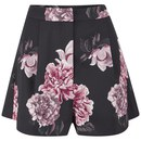 Cameo The Label Women's Crew Love Shorts - Black Bouquet