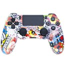 Official PlayStation DualShock 4 Custom Controller - Sticker Bomb