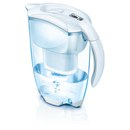 Brita Elemaris Meter Cool Water Filter Jug - White (2.4L)